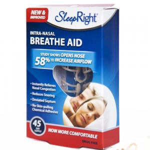 SleepRight Breathe Aid 3 pack Neusspreider